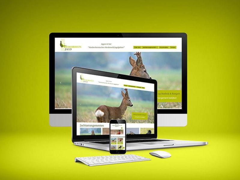 Website Niederrhein Jagd