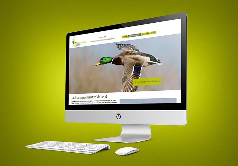 Subpage website Niederrhein Jagd