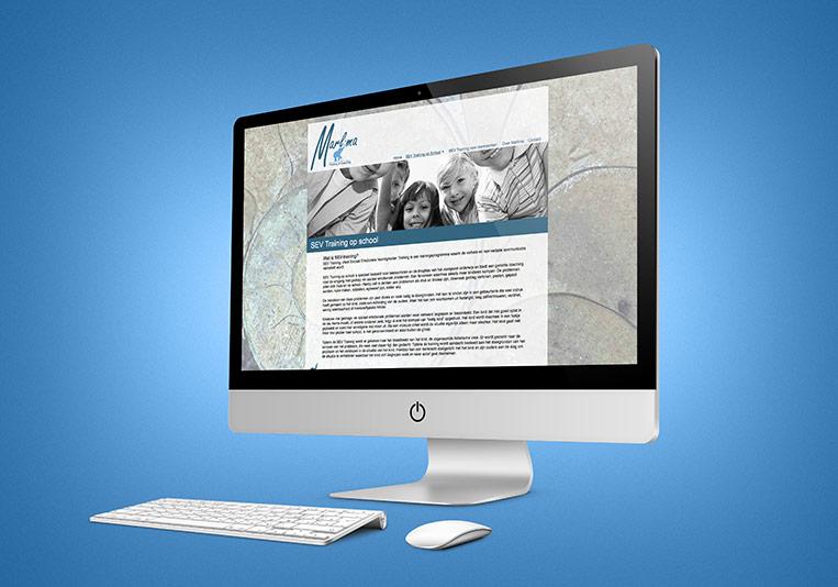 Website Marlima subpage
